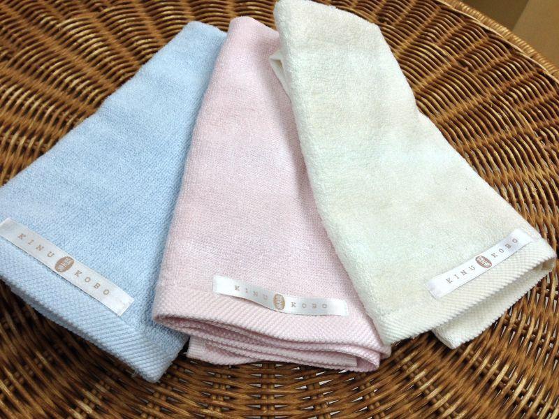 シルクハンドタオル 100% Silk Hand Towel - 香港 絹工房